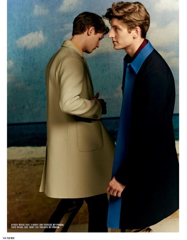 10 MEN MAGAZINE- Chris Beek & Rutger Schoone in Teenage Dream by Serge Leblon. Mattias Karlsson, Spring 2013, www.imageamplified.com, Image Amplified (5)