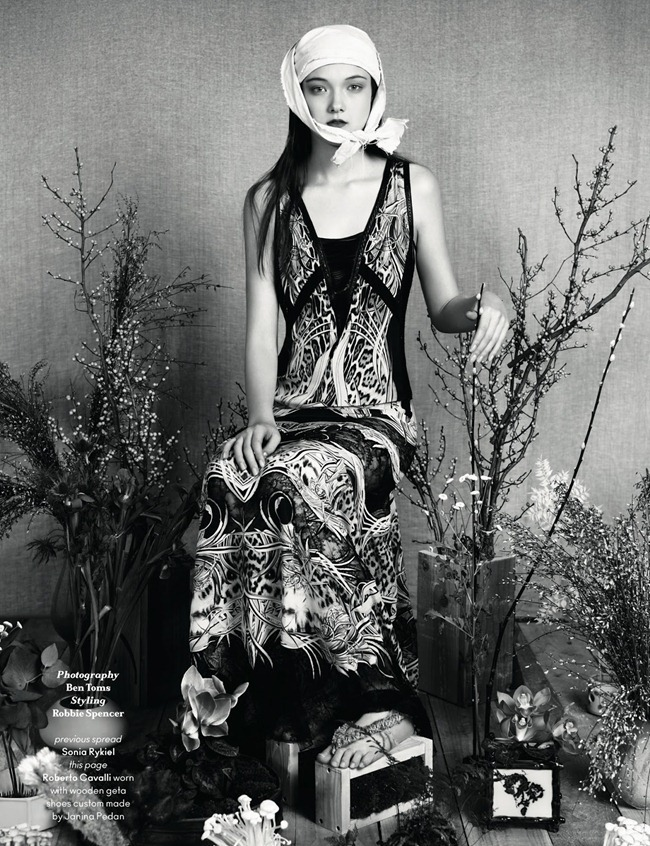 ANOTHER MAGAZINE- Yumi Lambert by Ben Toms. Robbie Spencer, Spring 2013, www.imageamplified.com, Image Amplified (2)