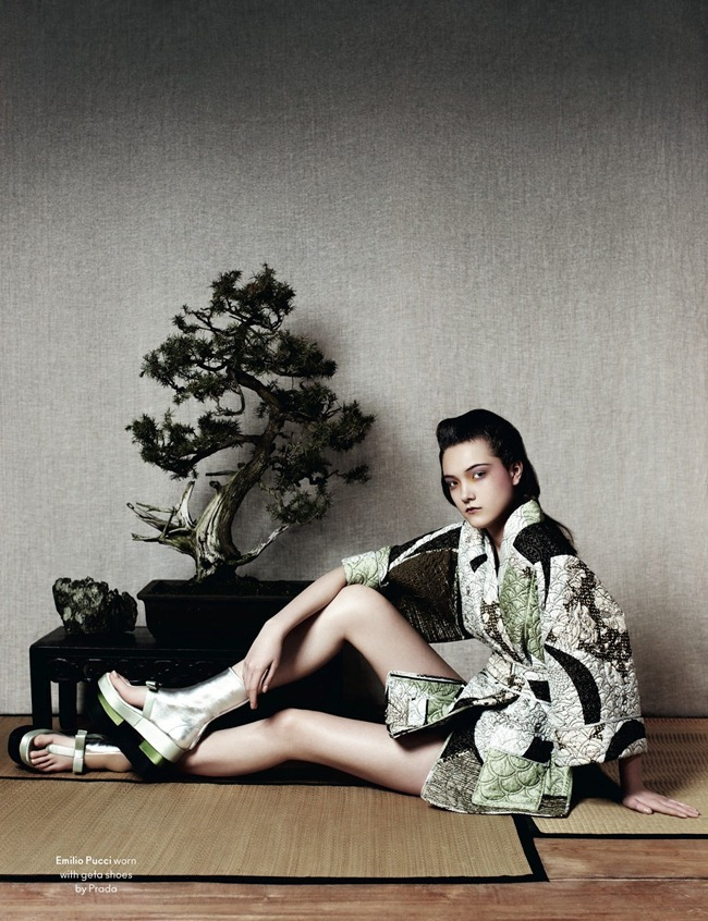 ANOTHER MAGAZINE- Yumi Lambert by Ben Toms. Robbie Spencer, Spring 2013, www.imageamplified.com, Image Amplified (6)