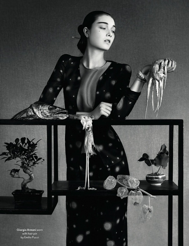 ANOTHER MAGAZINE- Yumi Lambert by Ben Toms. Robbie Spencer, Spring 2013, www.imageamplified.com, Image Amplified (7)