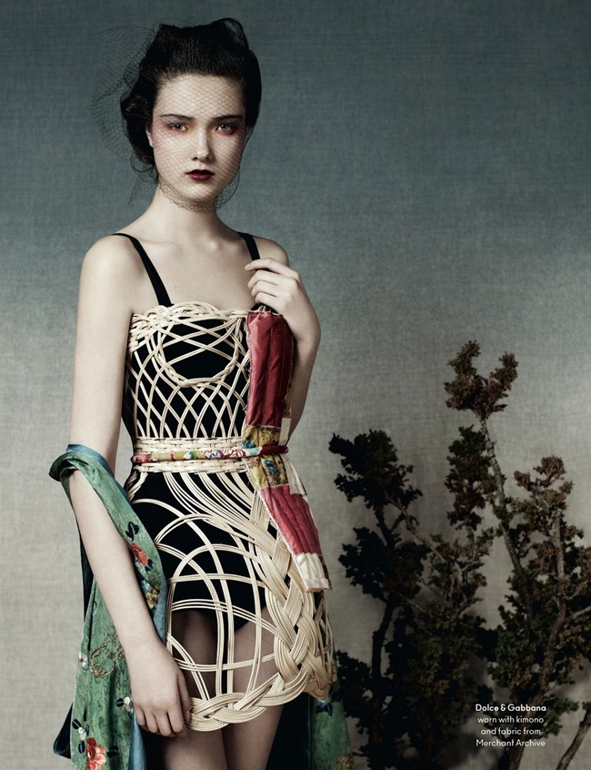 ANOTHER MAGAZINE- Yumi Lambert by Ben Toms. Robbie Spencer, Spring 2013, www.imageamplified.com, Image Amplified (11)