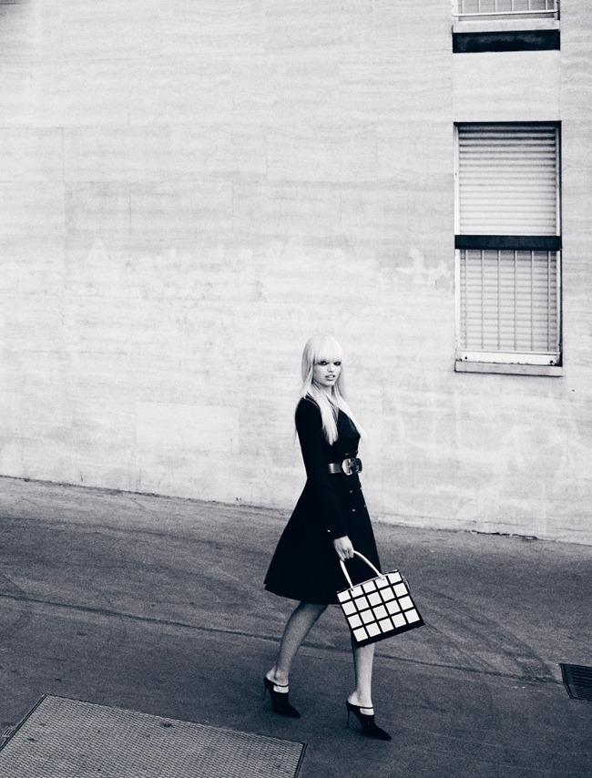 DANSK MAGAZINE- Daphne Groenveld in Black N' White by Hasse Nielsen. Darcy Backlar, Spring 2013, www.imageamplified.com, Image Amplified (1)