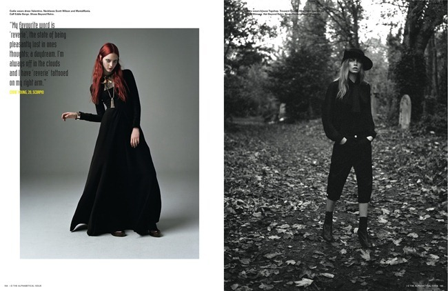 I-D MAGAZINE- Cara Delevigne, Codie Young, Magda Laguinge, Louise Parker & Charlie Bredal in Witches by Richard Bush. Sarah Richardson, Spring 2013, www.imageamplified.com, Image Amplified (1)
