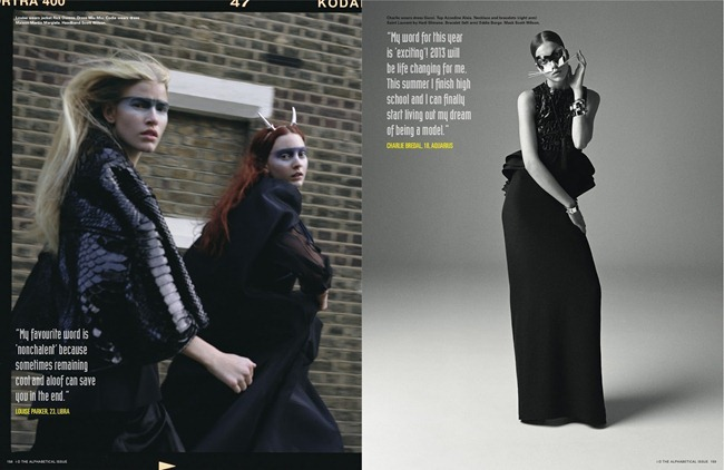 I-D MAGAZINE- Cara Delevigne, Codie Young, Magda Laguinge, Louise Parker & Charlie Bredal in Witches by Richard Bush. Sarah Richardson, Spring 2013, www.imageamplified.com, Image Amplified (4)