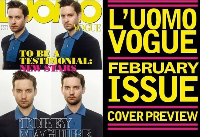 L'UOMO VOGUE- Tobey Maguire by Mark Seliger. Rushka Bergman, www.imageamplified.com, Image Amplified