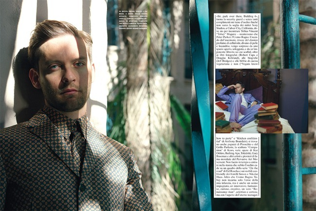 L'UOMO VOGUE- Tobey Maguire by Mark Seliger. Rushka Bergman, www.imageamplified.com, Image Amplified (1)