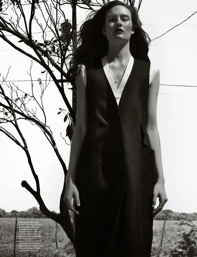 W MAGAZINE- Clean Living by Michael Thompson. Marie Amelie Sauve, March 2013, www.imageamplified.com, Image Amplified (4)