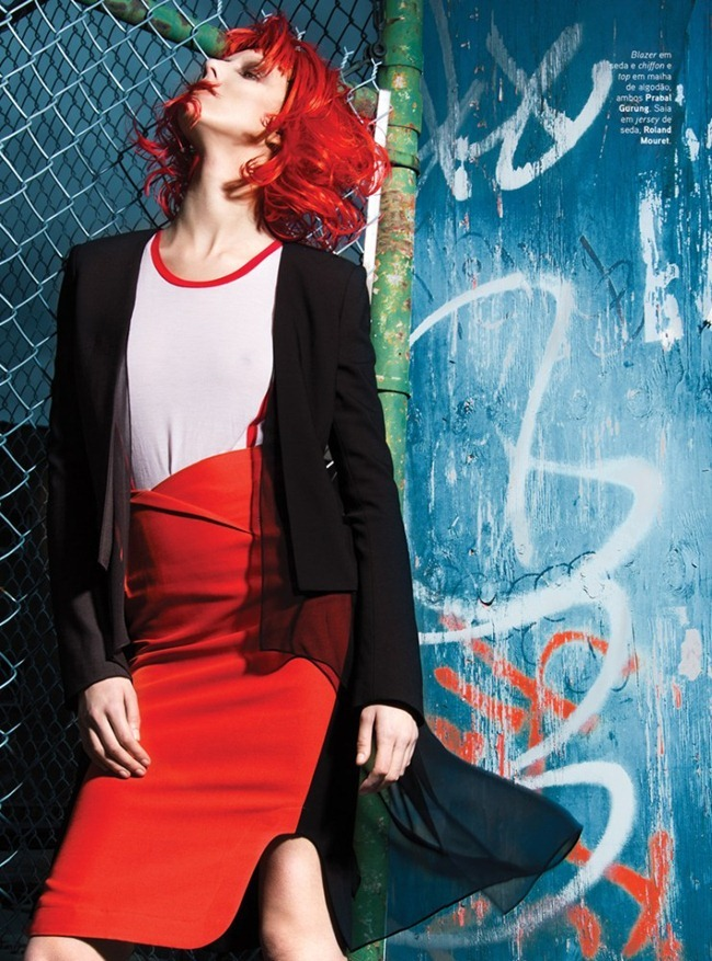 VOGUE PORTUGAL- Iris Egbers in Black, White & Red by Kevin Sinclair. March 2013, Andrew Holden, www.imageamplified.com, Image Amplified (2)