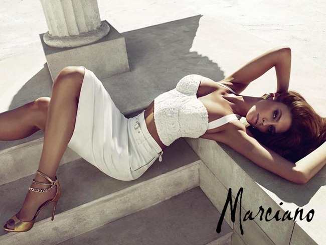 CAMPAIGN- Letizia Zuloga, Nadine Wolbeisser & Eugen Bauder for Marciano Spring 2013 by Hunter & Gatti. www.iamgeamplified.com, Image Amplified