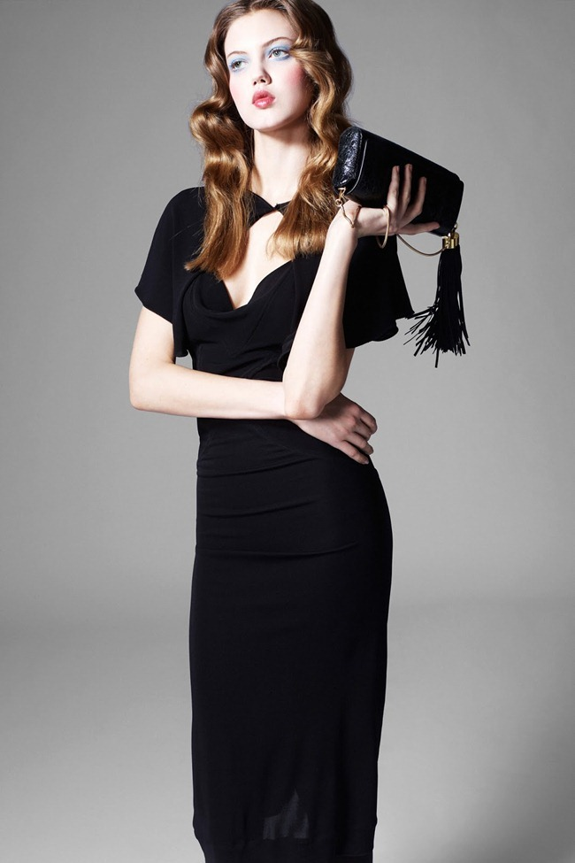 COLLECTION- Lindsey Wixson for Zac by Zac Posen Fall 2013. www.imageamplified.com, Image Amplified (2)