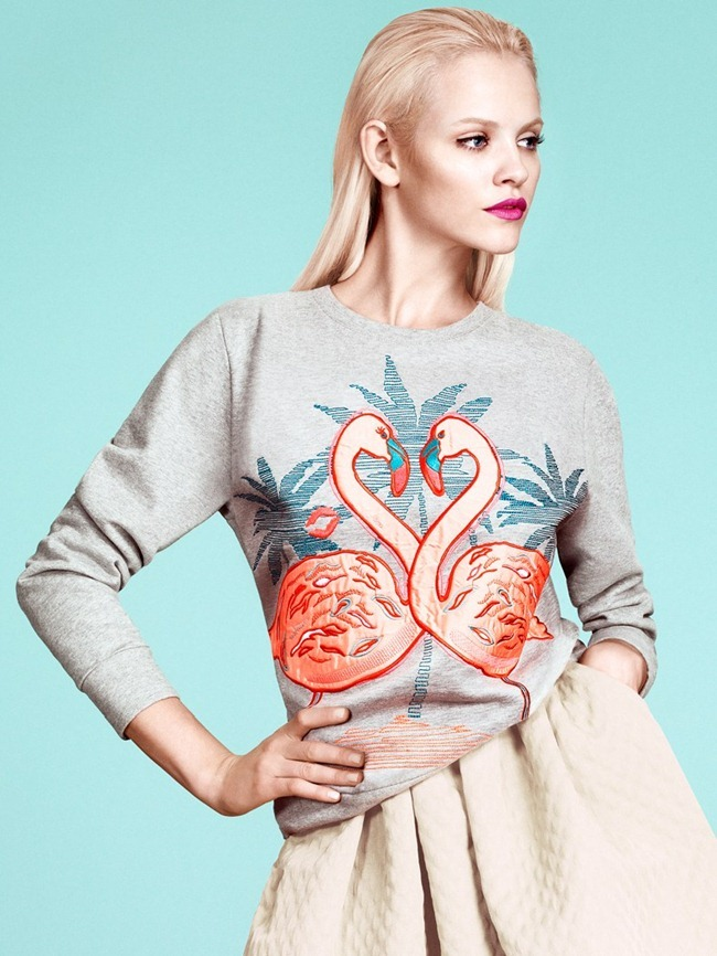 LOOKBOOK- Ginta Lapina for H&M's Modern Retro Spring 2013 by Andrew Yee. www.imageamplified.com, Image Amplified (4)