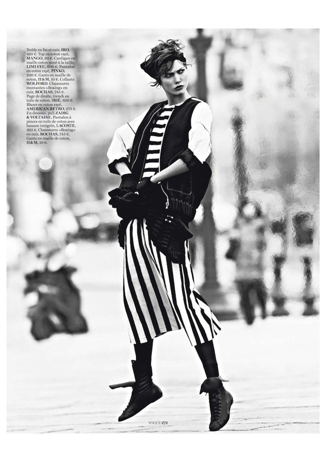 VOGUE PARIS- Karlie Klos in Street Dance by Lachlan Bailey. Geraldine Saglio, March 2013, www.imagegeamplified.com, Image Amplified (1)