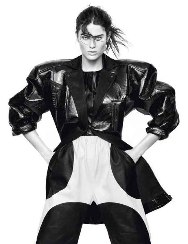 VOGUE PARIS- Isabeli Fontana in Full Contrast by David Sims. Emmanuelle Alt, March 2013, www.imageamplified.com, Image Amplified