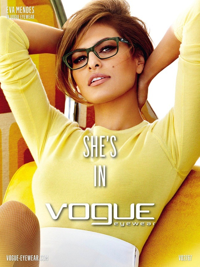 CAMPAIGN- Eva Mendes & for Vogue Eyewear Spring 2013 by Mario Testino. www.imageamplified.com, image Amplified (3)