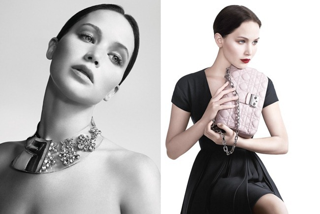 CAMPAIGN- Jennifer Lawrence for Christian Dior Miss Dior Handbags Spring 2013 by Willy Vanderperre. Olivier Rizzo, www.iamgeamplified.com, Image Amplified