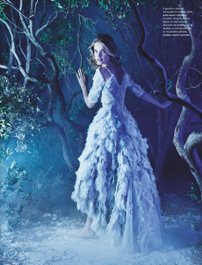 NUMERO MAGAZINE- Natalia Vodianova in La Couture Enchantee by Karl Lagerfeld. Vanessa Metz, March 2013, www.imageamplified.com, Image Amplified (3)