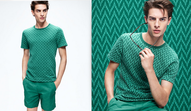 CAMPAIGN- Russell Giardana in Patterns IN Play for H&M Spring 2013. www.imageamplified.com, Image Amplified (1)