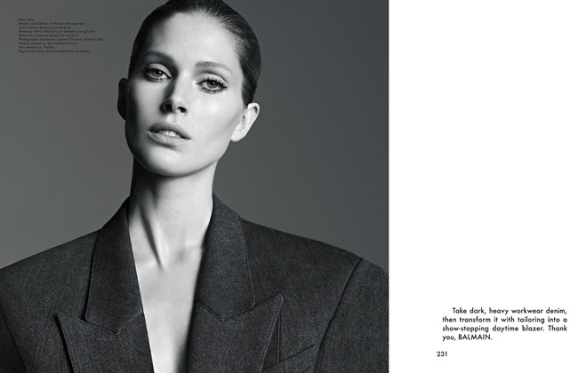 THE GENTLEWOMAN- Iselin Steiro in New Lady by Karim Sadli, Spring 2013, www.imageamplified.com, Image Amplified (5)