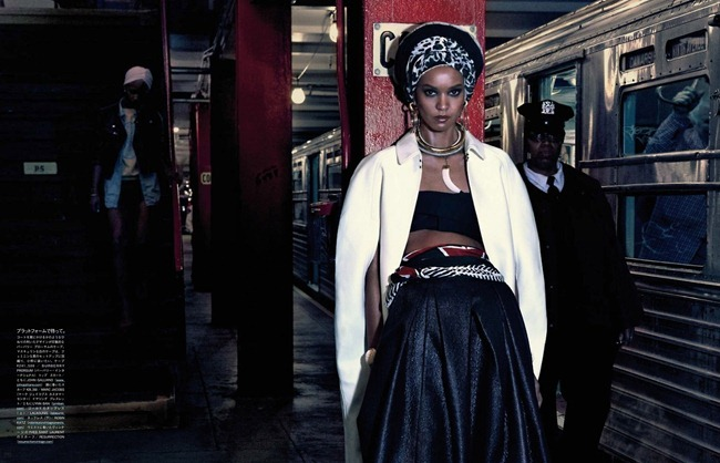 VOGUE JAPAN- Liya Kebede & DAvid Abbodji in The Vanishing Underground by Mikael Jansson. George Cortina, April 2013, www.imageamplified.com, Image Amplified (7)