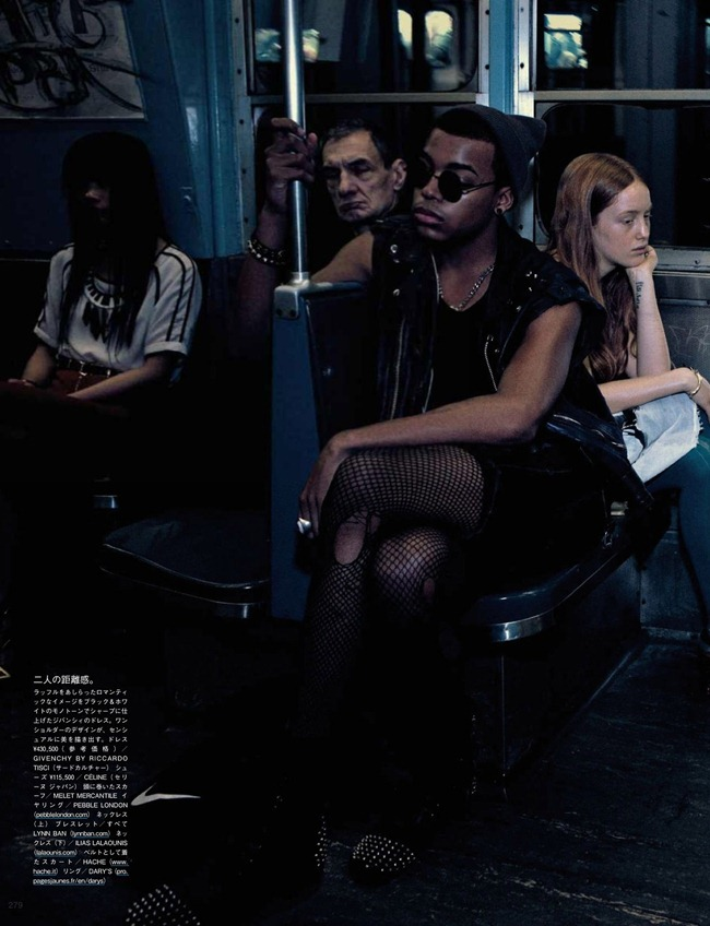 VOGUE JAPAN- Liya Kebede & DAvid Abbodji in The Vanishing Underground by Mikael Jansson. George Cortina, April 2013, www.imageamplified.com, Image Amplified (1)