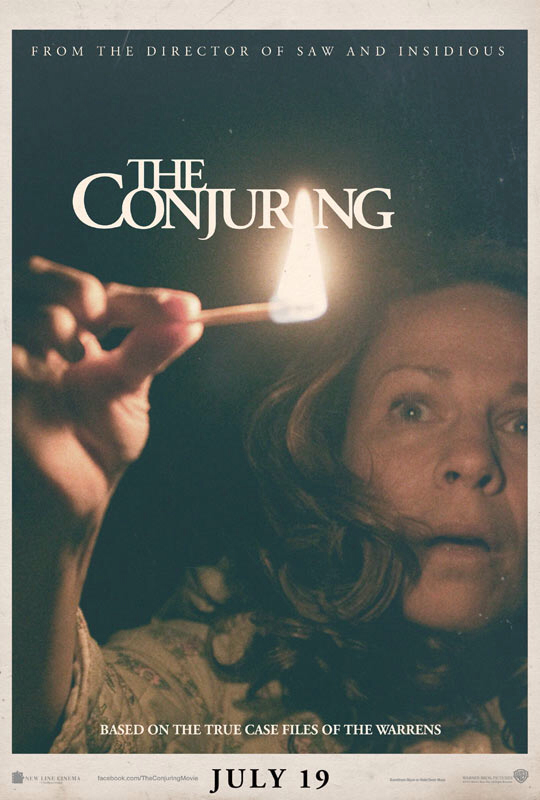 CINEMA SCAPE: The Conjuring Starring Patrick Wilson, Ron Livingston, Lili Taylor. In Theaters July 19, 2013