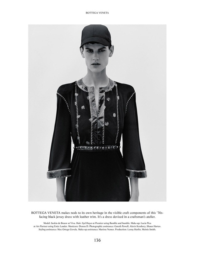 THE GENTLEWOMAN- Saskia De Brauw in Nieuw by Alasdair McLellan. Jonathan Kaye, Spring 2013, www.imageamplified.com, Image Amplified