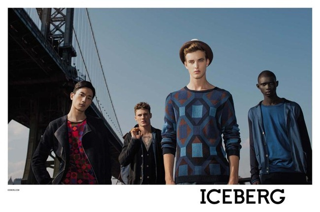 CAMPAIGN- James Smith, Fernando Cabral, Mikkel Jensen & Sung Jin Park for Iceberg Spring 2013 by Julian Schratter. www.imageamplified.com, Image Amplified (3)