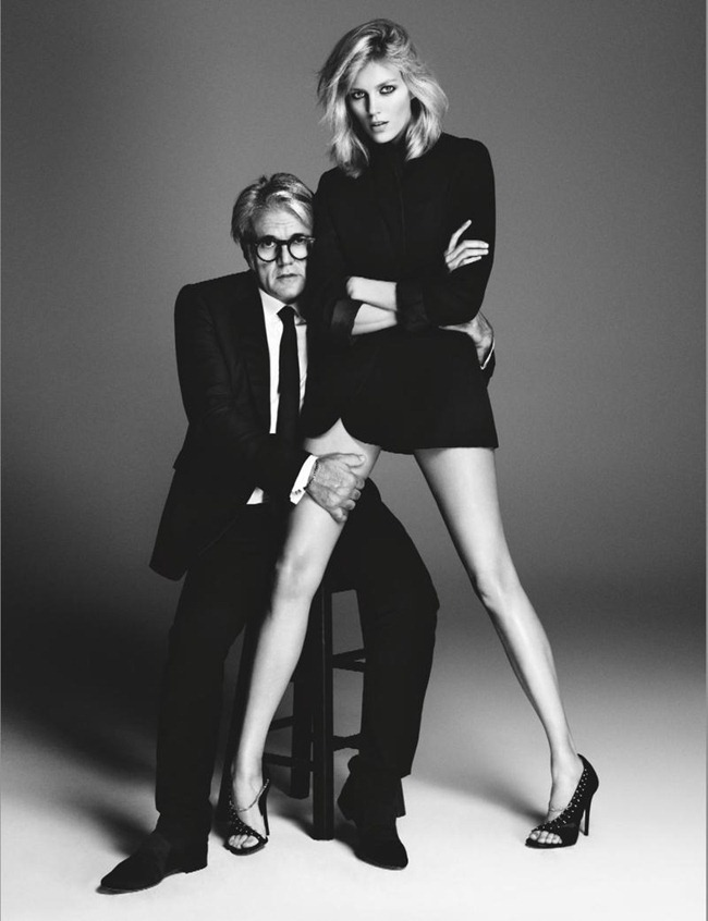 CAMPAIGN- Giuseppe Zanotti for Anja Rubik Capsule Spring 2013 by Paola Kudacki . www.imageamplified.com, Image Amplified