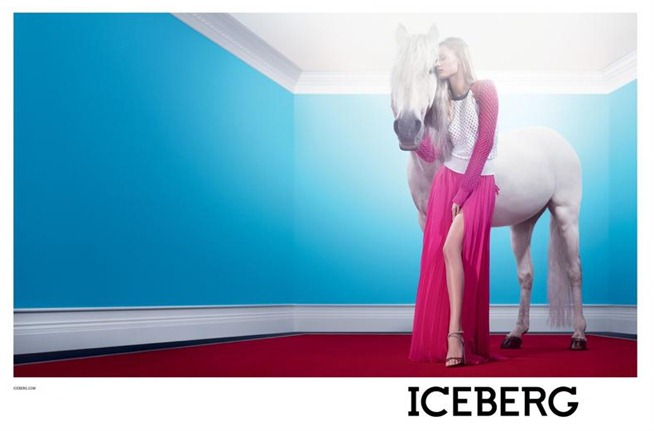 CAMPAIGN- Edita Vilkeviciute for Iceberg Spring 2013 by Willy Vanderperre. www.imageamplified.com, Image Amplified (3)