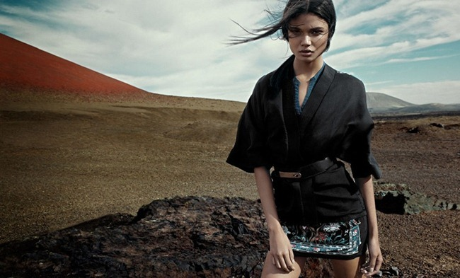 CAMPAIGN- Daniela Braga for Pull & Bear Spring 2013. www.imageamplified.com, Image Amplified