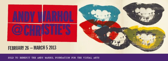 UPDATES: Andy Warhol@Christie's, Karl in Paris, Tom in Paris (Too)