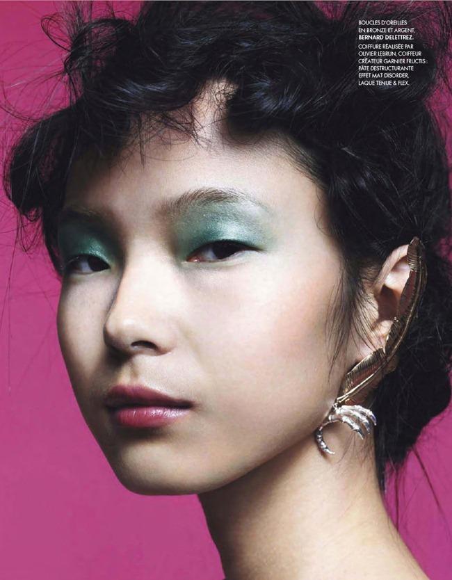 ELLE FRANCE- Xiao Wen Ju in Pop by Bjarne Jonasson. Michele Beaurenaut, February 2013, www.imageamplified.com, Image Amplified (28)
