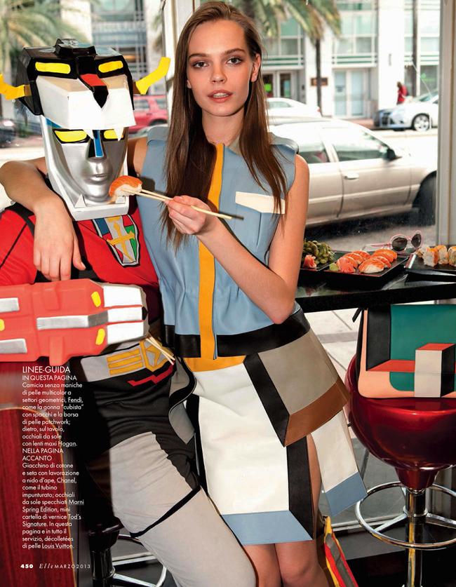 ELLE ITALIA- Mina Cvetkovic in I, Robot by Marcelo Krasilcic. Alberto Zanoletti, March 2013, www.imageamplified.com, Image Amplified (1)