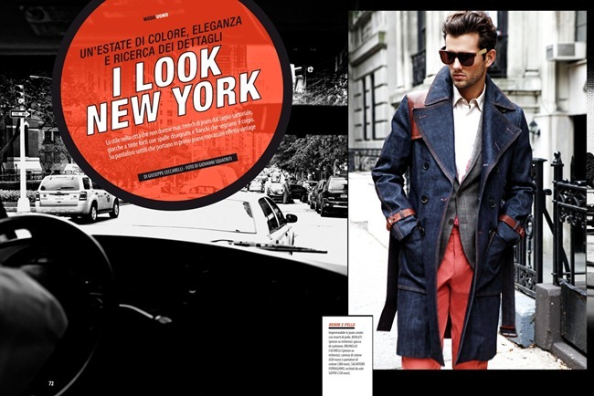 GENTLEMAN MAGAZINE- Terron Wood in I look New York by Giovanni Squatriti. Giuseppe Ceccarelli, www.imageamplified.com, Image Amplified
