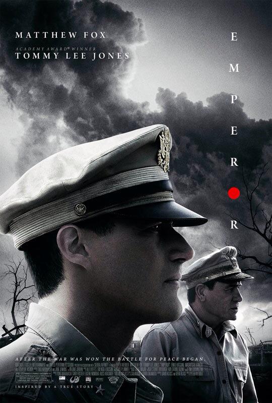 CINEMA SCAPE: Emperor Starring Matthew Fox & Tommy Lee Jones. In Theaters March 8, 2013
