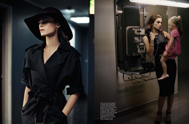 VOGUE ITALIA- Kasia Smutniak by Vincent Peters. March 2013, www.imageamplified.com, Image Amplified (1)