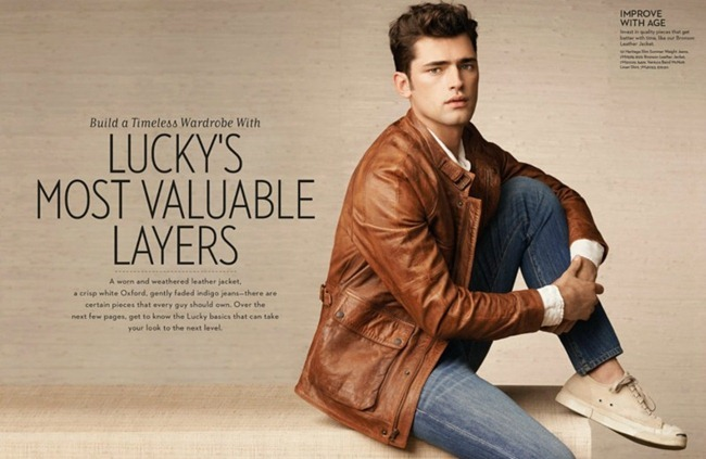 CAMPAIGN- Sean O'Pry for Lucky Brand Spring 2013. www.imageamplified.com, Image Amplified (2)