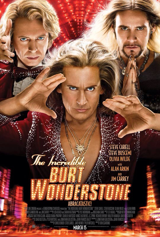 CINEMA SCAPE: The Incredible Burt Wonderstone Starring Steve Carell, Steve Buscemi & Olivia Wilde. In Theaters March 15, 2013