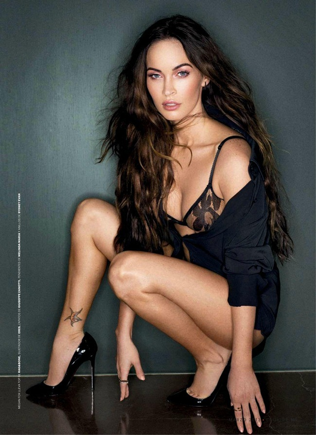 ESQUIRE SPAIN- Megan Fox by Sante D'Orazio. March 2013, www.imageamplified.com, Image Amplified