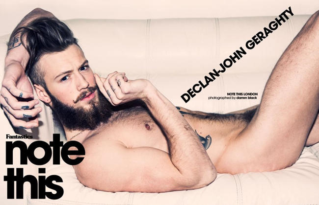 FANTASTICSMAG- Declan-John Geraghty in Note This London by Darren Black. www.imageamplified.com, Image Amplified