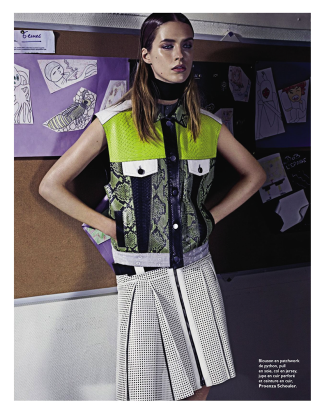 GRAZIA FRANCE- Julia Frauche in Cuir Particular by David Roemer. Teddy Czopp, March 2013, www.imageamplified.com, Image Amplified (7)