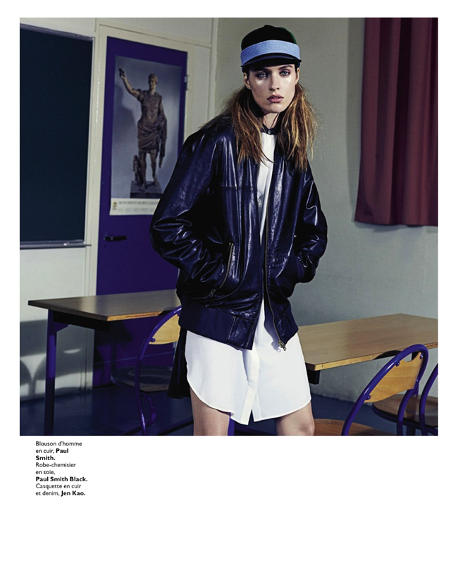 GRAZIA FRANCE- Julia Frauche in Cuir Particular by David Roemer. Teddy Czopp, March 2013, www.imageamplified.com, Image Amplified (10)