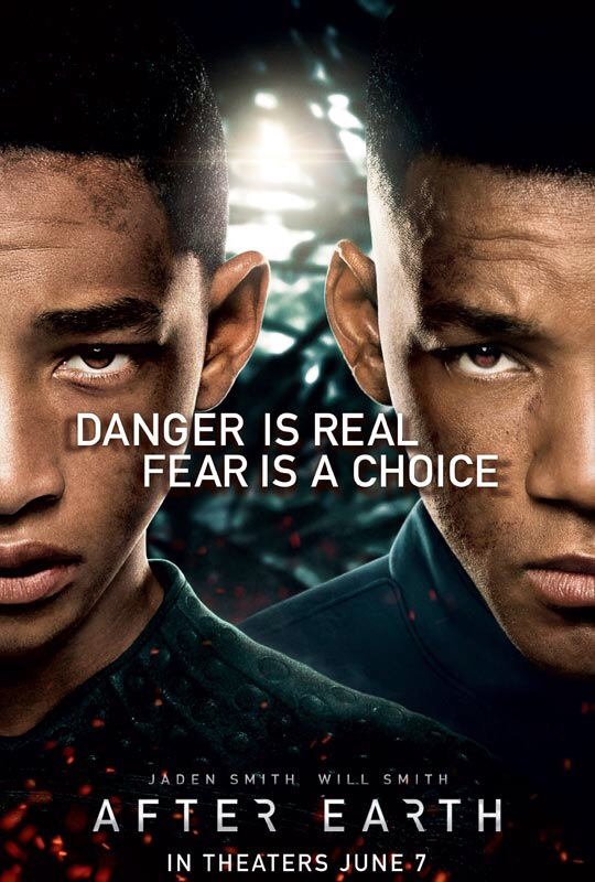 CINEMA SCAPE: After Earth Starring Will Smith & Jaden Smith. In Theaters June 7, 2013
