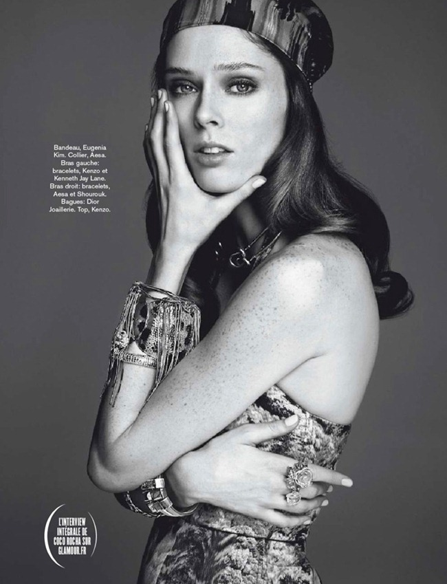 GLAMOUR FRANCE- Coco Rocha by Nico. Polina Aronova, April 2013, www.imageamplified.com, Image Amplified (2)