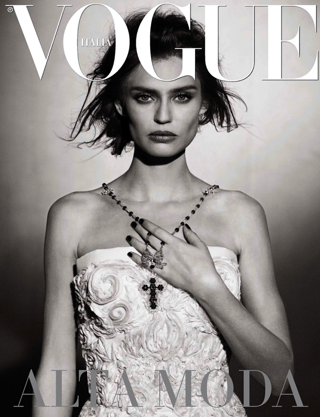 VOGUE ITALIA- Bianca Balti in Simply Classy by Peter Lindbergh. Sara Maino, March 2013, www.imageamplified.com, Image Amplified (8)