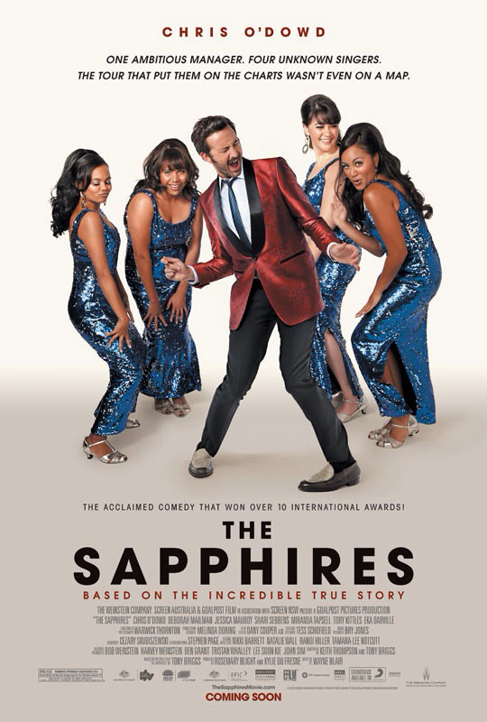 CINEMA SCAPE:  The Sapphires. In Theaters March 22, 2013