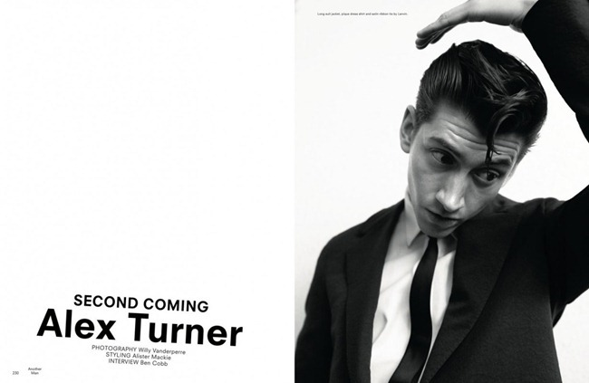ANOTHER MAN MAGAZINE- Alex Turner in Second Coming by Willy Vanderperre. Alister Mackie, Spring 2013, www.imageamplified.com, Image Amplified