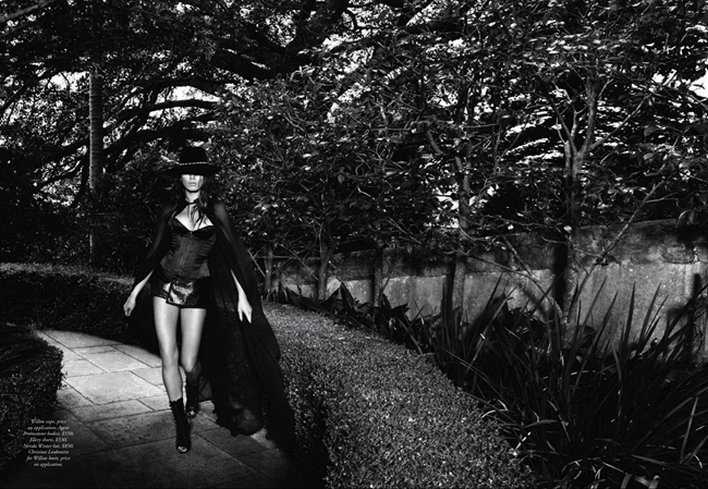 HARPER'S BAZAAR AUSTRALIA- Jessica Gomes in Precious Little by Simon Lekias. Thelma McQuillan, April 2013, www.imageamplified.com, Image Amplified (4)