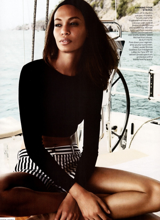 VOGUE MAGAZINE- Joan Smalls in Smooth Sailing by Patrick Demarchelier. Tonne Goodman, April 2013, www.imageamplified.com, Image Amplified (6)