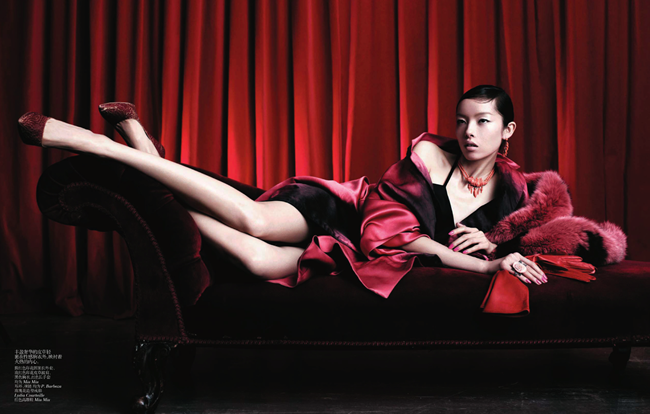 VOGUE CHINA- Fei Fei Sun in Graceful Boudoir by Willy VAnderperre. Nicoletta Santoro, April 2013, www.imageamplified.com, Image Amplified (6)
